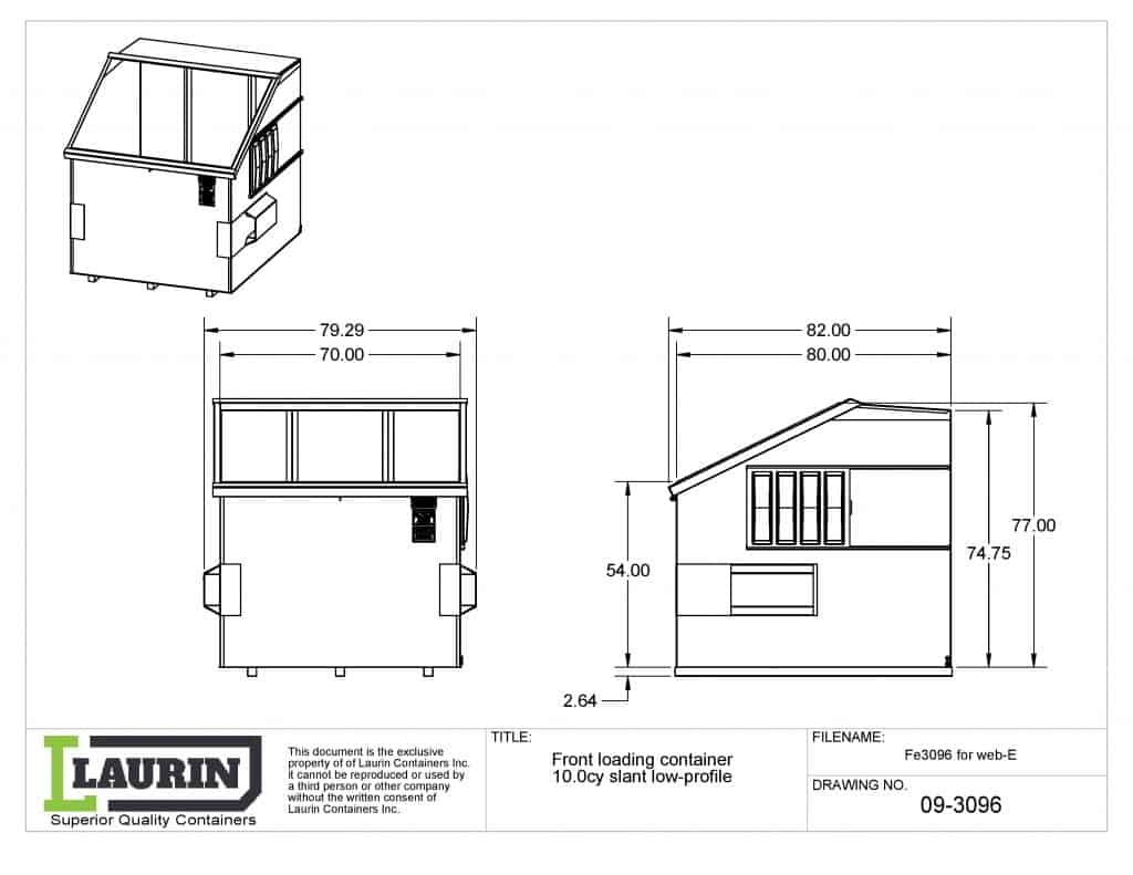 front-loading-container-10cy-slant-low profil-fe3096-web-laurin containers